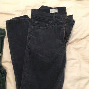 Gap blue corduroy pants